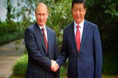 #Russian President Vladimir Putin Wednesday oversaw a vast gas deal with China said to be worth $400 billion as the Ukraine crisis threatens Russian energy exports to #Europe and his country faces Western sanctions. The gargantuan 30-year deal finally came to fruition after a decade of negotiations. It represents a turn to the east by Moscow at a moment when its geopolitical assertiveness, particularly the takeover of #Crimea, has seen it heavily criticised by the West. #World #News #Dunya…
