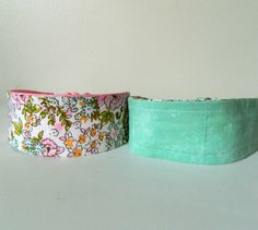 2-in-1 Reversible Headband Floral Print with Mint Green Interior by KYEbags, $9.99