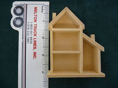1/144th Scale Wood Dollhouse Miniature Shadow Box ~ from M Toys & Treasures, 5.00, plus 2.50 shipping... (I have several to play with!)
