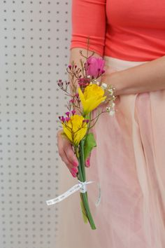 Wrap all your Bouquets with printed ribbon for a personalized message! #flowers #ribbon #print #message #gift