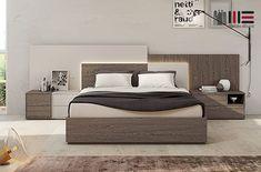 Bedroom False Ceiling Design, Bedroom Bed Design, Bedroom Furniture Design, Modern Bedroom Design, Home Room Design, Contemporary Bedroom, Bed Furniture, Bed Back Design, Double Bed Designs