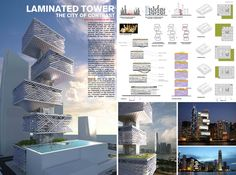 [A3N] : Alternative Car Park Tower (Hong Kong) ( Honorable Mention 05 ) /  Chris Chan Yiu Hang , Stephanie Tan Mee Lee ( Hong Kong )