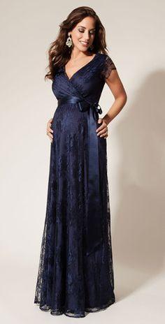 Tiffany Rose Long Maternity & Nursing Dress - Eden | Luna Maternity & Nursing