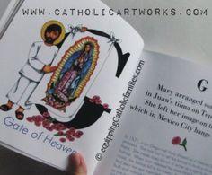 Alphabet of Mary...Catholic Artworks for awesome classroom resources. Think Catholic Bulletin Boards!