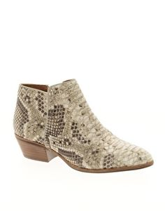 1d33df406ad Image 1 of Sam Edelman Petty Beige Ankle Boots
