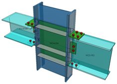 AISC - Beam to Column with flange plates