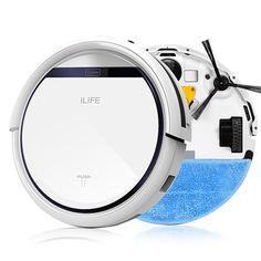 ILIFE Intelligent Robot Vacuum Cleaner for Home Slim, HEPA Filter,Cliff Sensor,Remote control Self Charge V3+ ROBOT ASPIRADOR