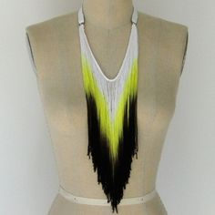 Fringe necklace by Three Horses