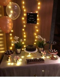 Birthday party decorations for adults women simple harry potter 64 Ideas - Party - Birthday Simple Birthday Decorations, Birthday Party Decorations For Adults, Diy Party Decorations, Small Birthday Parties, Adult Birthday Party, Birthday Celebration, 22nd Birthday, Mermaid Birthday, Birthday Ideas