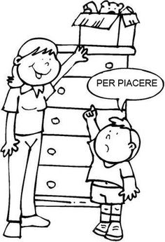 Schede didattiche Coloring Pages, Clip Art, Teaching, Education, Children, School, Cabo, Google, Manners Activities