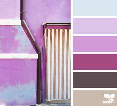Ideas Exterior Paint Purple Design Seeds For 2019 Colour Pallette, Colour Schemes, Color Patterns, Color Combos, Exterior Paint Colors, Paint Colors For Home, Deco Jungle, Color Palette Challenge, Shabby