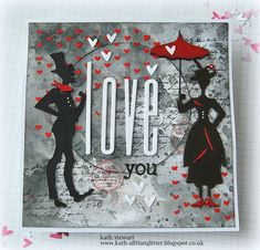 Kath's Blog......diary of the everyday life of a crafter: Love Is In The Air Tim Holtz Dies, Sizzix Dies, Snowflake Images, Heart Stencil, Whimsy Stamps, Distress Oxide Ink, Shaker Cards, Ink Pads, Watercolor Cards