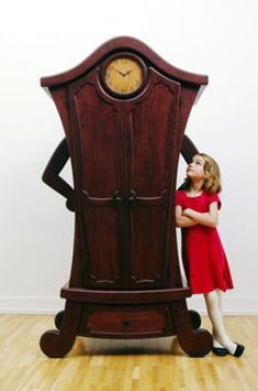 I'd love this if I had my own Alice in Wonderland room! #funkyfurniture