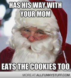 Funny merry Christmas memes collection for December You get some hilarious Santa Claus meme to share with your friends and colleagues. Funny Merry Christmas Memes, Christmas Humor, All Things Christmas, Christmas Holidays, Christmas Ideas, Happy Holidays, Father Christmas, Christmas Morning, Christmas Pictures