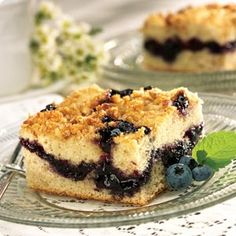 Knott's Berry Farm Blueberry Coffee Cake Recipe