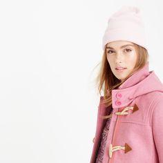 Wool melton toggle coat : wool   J.Crew