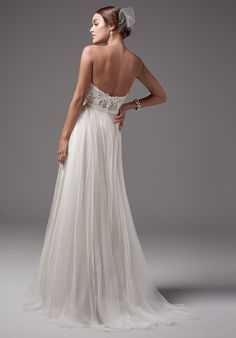 Sottero and Midgley Carrington Rose bodice with Ashby skirt A-Line Wedding Dress