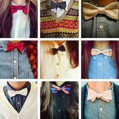 We can pretty much rock a bow tie any day of the week. | Photographic Evidence That Proves Bow Ties Belong To The Ladies