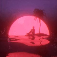 Dedicated to the synthwave music scene, a revisionist music style of synthesizers and pulsing beats, and the retrofuturist aesthetic of. Aesthetic Images, Retro Aesthetic, Aesthetic Videos, Aesthetic Anime, Aesthetic Wallpapers, Aesthetic Tattoo, Purple Aesthetic, Oeuvre D'art, Vaporwave Gif