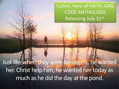 FAITH excerpt Pond, Mcqueen, Faith, Community, Sunset, Outdoor, Image, Outdoors, Water Pond