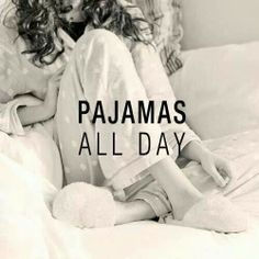 Sunday = Pyjama all day ! Pajama Day, Pajamas All Day, Comfy Pajamas, Lazy Sunday, Lazy Days, Make Me Happy, Make Me Smile, Pj Day, Sunday Quotes