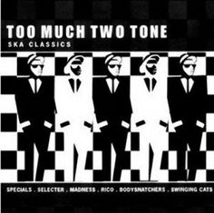 Shop for Too Much Two Tone. Starting from Choose from the 2 best options & compare live & historic music prices. Music Album Covers, Music Albums, Ska Music, Ska Punk, Cd Cover Art, Visual Communication Design, Elvis Costello, Cd Art, Rude Boy