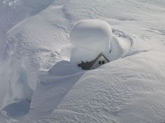 Snow photo. Wow....lots of snow.
