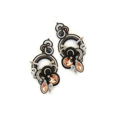 Hey, I found this really awesome Etsy listing at https://www.etsy.com/listing/248885819/soutache-earrings-black-earrings-black
