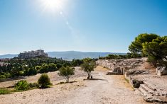 In Greece's museums, at archaeological sites and prominent in the natural landscape, evocative reminders of past democratic ideals surround us. Athenian Democracy, Out To Sea, Acropolis, Athens Greece, Archaeological Site, Pilgrimage, Monument Valley, Landscape, Nature