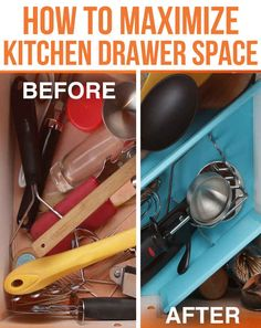 How To Organize Your Kitchen Drawers Once And For All