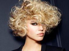 Ella HoyGalería de fotos Ella Hoy - Cortes de pelo: Fotos estilos según la forma del rostro _ Bob rizado mentón prominente