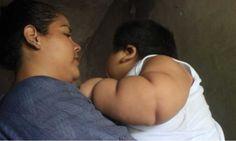 #La dura historia de Luisito, el bebé de 10 meses que pesa 30 kilos - Tiempo de San Juan: Tiempo de San Juan La dura historia de Luisito,…
