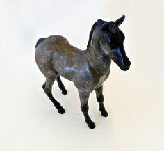"""Bronze Sculpture By Star York Titled: """"Colt"""".    www.EagleDancerGallery.com"""