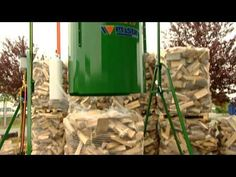 Posch K-650 Firewood Factory Processor- High Speed Production! - YouTube