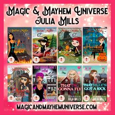 Check out all the Fantastic Tales that Julia Mills wrote in the Magic & Mayhem Universe Today!  #MagicMayhemUniverse #ebook #pnr #UnleashTheMagic #MMUSeries #paranormal #author #reading