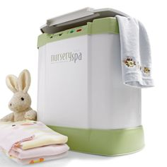 Towel and clothes warmer for the kids. Too bad I didn't have one of these when my kids were babies!