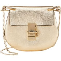 Chloé Drew Mini Crossbody (122.710 RUB) ❤ liked on Polyvore featuring bags, handbags, shoulder bags, colorless, cross body handbags, clear handbags, mini crossbody, mini purse and shoulder strap bag