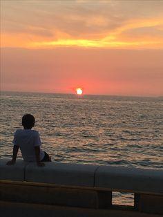 Sunset in México
