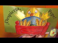 El Pollo Pepe va al colegio. Cuento. - YouTube