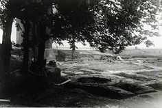 555_10878 Opgravingen bij de ruïne van Huis te Merwede - Regionaal Archief Dordrecht, 1938?