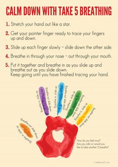 5 Breathing Exercise for Kids - great for helping them learn to manage big emotions and stress.Take 5 Breathing Exercise for Kids - great for helping them learn to manage big emotions and stress. Mindfulness For Kids, Mindfulness Activities, Mindfullness Activities For Kids, Teaching Mindfulness, Mindfulness Exercises, Yoga For Kids, Exercise For Kids, Social Emotional Learning, Social Skills