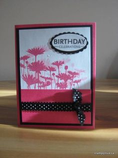 Embossed Upsy Daisy by stamp@live - Cards and Paper Crafts at Splitcoaststampers