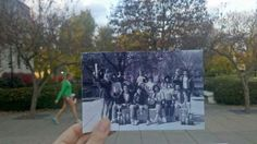 Check out this photo of the 1984 speech team celebrating outside of Bradley Hall! Twenty-seven years later and we're still winning! Go BUST!