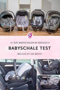 Babyschale Test 2019 Baby car seat test: ➔ 4 new i-size baby car seats compared! We compared 4 i-Size baby car seats, installed them in the car and tested them. Learn everything about ✔ the best i-size baby car seat ✔ for your baby seat Baby Must Haves, Third Baby, First Baby, Breastmilk Storage Bags, Premature Baby, Pregnancy Test, First Time Moms, Baby Hacks, Mom And Dad