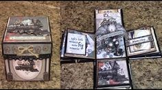 Part 1 - Learn to Make a Mini Album - Designs by Shellie - YouTube