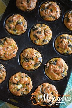 [New] The 10 Best Home Decor (with Pictures) - Breakfast Egg Cup with Spinach onions and cheese. My Recipes, Cake Recipes, Chicken Recipes, Cooking Recipes, Healthy Recipes, Torte Recepti, Bosnian Recipes, Pitaya, Food Videos
