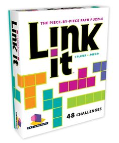 Amazon.com: Brainwright Link It, The Piece-By-Piece Path Puzzle: Toys & Games
