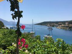 View from Nicolas's taverna