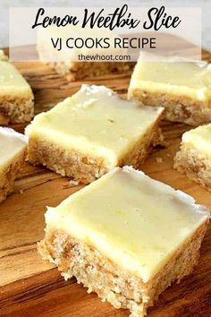 Lemon Weetbix Slice Recipe Is Delicious   The WHOot Chocolate Weetbix Slice, Cooking Time, Cooking Recipes, Savoury Baking, Sausage Rolls, Baking Tins, Recipe Details, Slice Recipe, Lemon Recipes