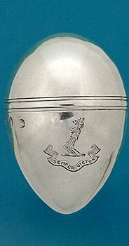 A George III Silver Nutmeg Grater  By Thomas Taylor